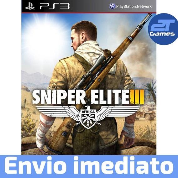 Sniper Elite Iii Ps3 Psn Jogo Digital Envio Imediato