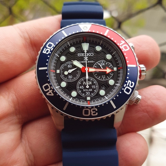 Relógio Seiko Solar Padi Ssc663 - Chrono Novo E A P. Entrega