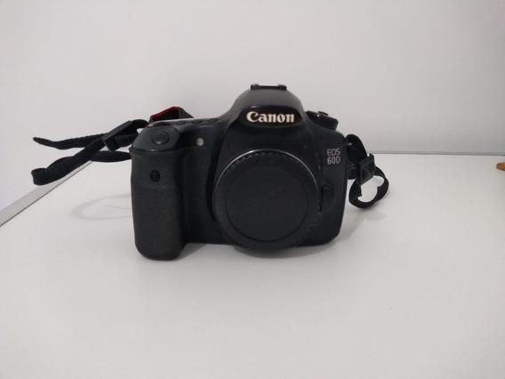 Câmera Canon Eos 60d Corpo