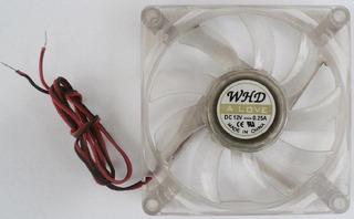 Cooler Ventilador 8 Cmts Case Gabinete Fuentes Transparente