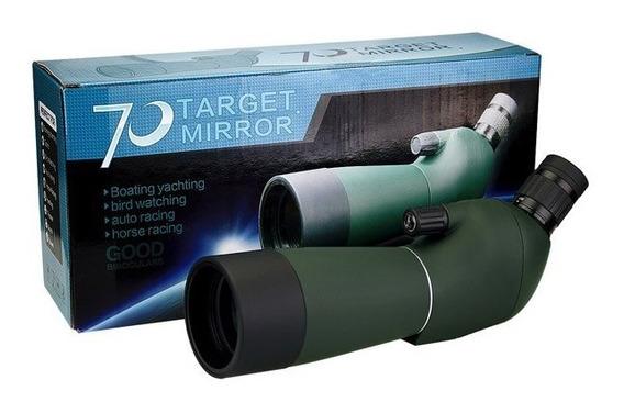 Luneta Terrestre Force Xt 20-60x60 Wr + 10 Alvos Fita Tiro