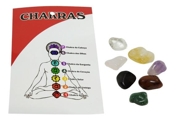 7 Pedra Chakra Naturais Dos Cristais Mandala De Luz Chakras