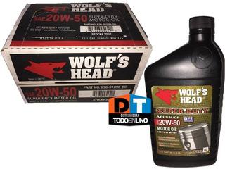 Aceite 20w50 Mineral Wolfs Head Americano Tienda La Guaira