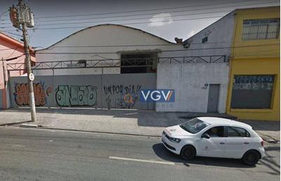Galpão Comercial Para Venda E Locação, Saúde, São Paulo - Ga0029. - Ga0029