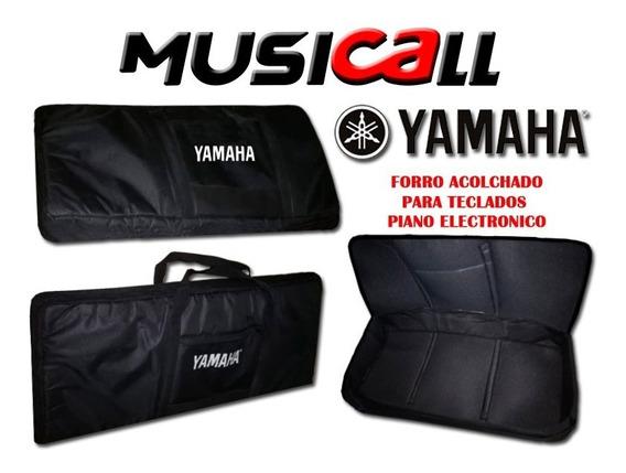Estuche Para Teclados Pianos Yamaha Acolchonado 5 Octavas