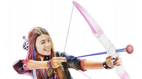 Conjunto De Arco Y Flechas Rosa Nena Super Bow -  10273