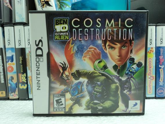 Ben 10 Ultimate Alien Cosmic Destruction - Nintendo Ds - 12x