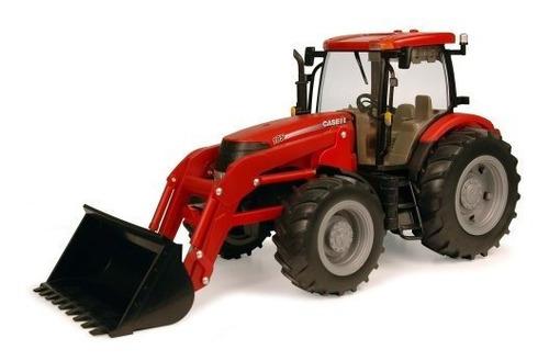 Tomy Big Farm 1:16 Case Ih Puma 195 Tractor Con Cargador
