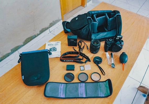 Canon T6 + Bolsa + Lente + Cartão 32gb A Vista 1699,00