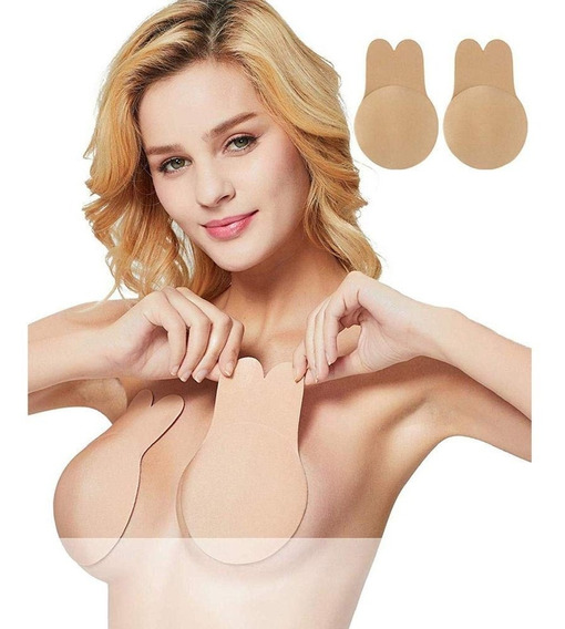 Levanta Busto Parche Adhesivo Push Up Bra Invisible Silicon