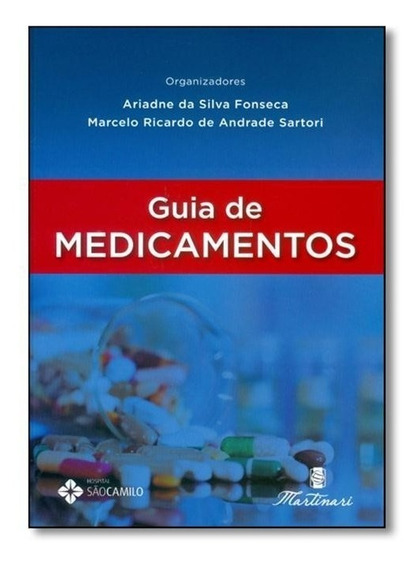 Livro - Guia De Medicamentos Martinari 2016