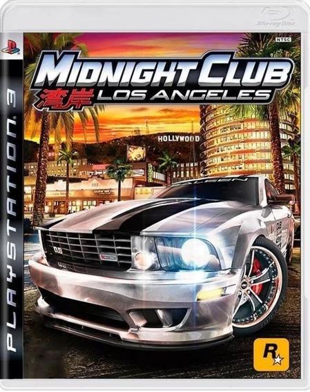 Midnight Club Los Angeles Ps3 - Leia Descrição