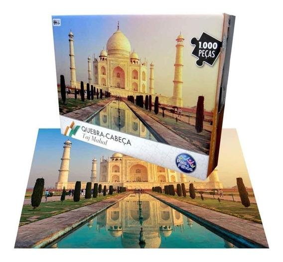 Quebra Cabeça Taj Mahal - Índia 1000 Pc 7267.1 Pais E Filhos