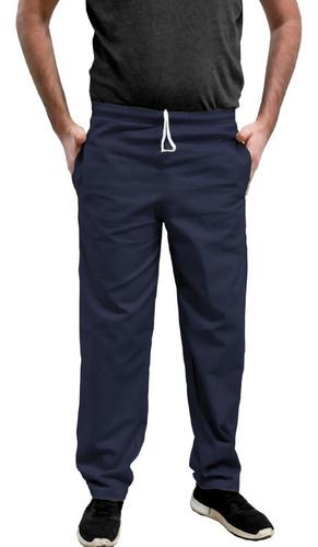 Imagen 1 de 7 de Pantalon Nautico Gabardina Vestir Recto Clasico Liviano