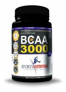 Bcaa 3000 Sports Nutrition 240 Cápsulas