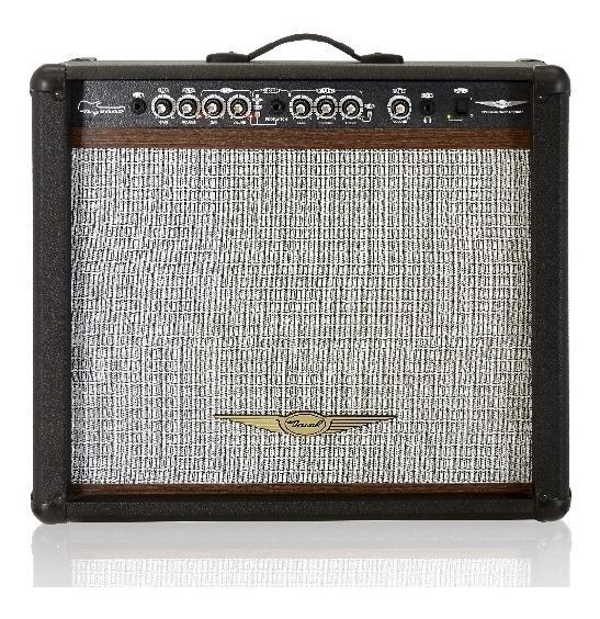 Cubo Para Guitarra Oneal Ocg 400r Cr 90w Rms - Preto - C/foot