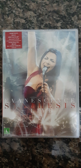 Dvd Evanescence - Synthesis Live