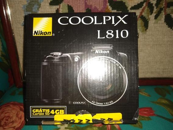 Câmera Digital Nikon Colpix L810