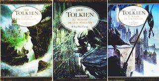 El Señor De Los Anillos Tolkien Libro + Envio Rapido