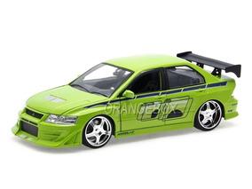 Mitsubishi Lancer Evo Vii Velozes E Furiosos Jada Toys 1:24