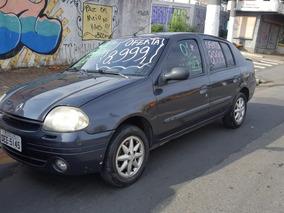 Clio Sedam 2001 Sem Entrada X299