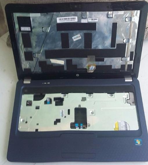 Carcaça Notebook Hp G42 Azul - Solicite Peças