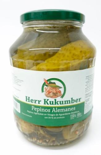 Pepinos Agridulces Dieteticos Alemanes Herr Kukumber 1700ml