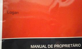 Manual Do Proprietário Renault Logan ( Original E Novo )