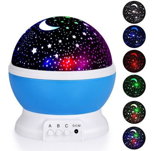 Proyector Lámpara Luna Cielo Estrellado Usb 5v Decoración