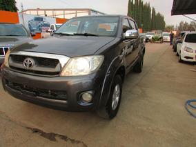 Toyota Hilux Cabina Doble Sr 2009 1 Dueño Fac Original !!!