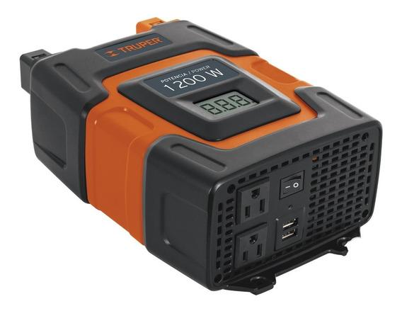 Inversor De Corriente 1200 Watts Truper 10491   Inco-1000
