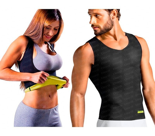 Chaleco Hombre Mujer Thermo Shapers Reductor Mega Shop Tv