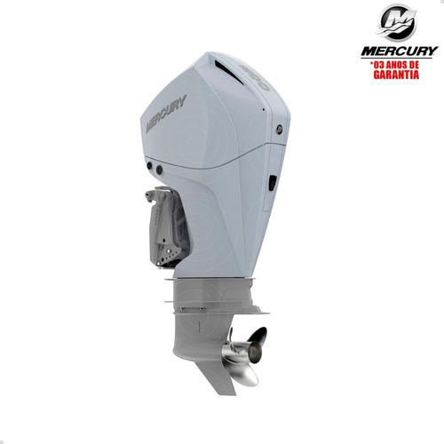 Motor Popa Mercury 4t 200hp L Efi V6 Dts Pess Física Branco