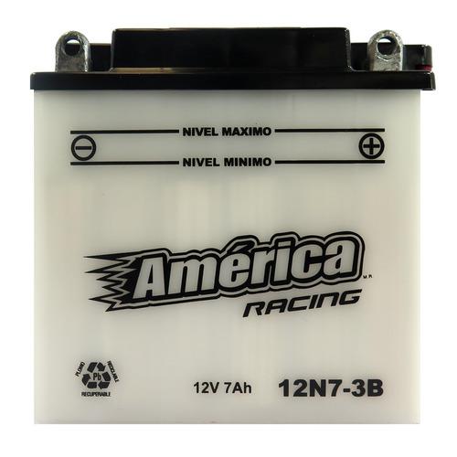 Imagen 1 de 3 de Bateria Para Motor America Racing Mod 12n7-3b 12v 7ah Moto M