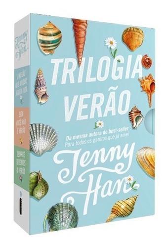 Box Livro Trilogia Verão