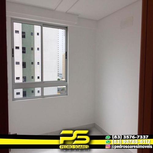 Apartamento Com 2 Dormitórios Para Alugar, 60 M² Por R$ 1.600/mês - Campina Grande - Campina Grande/pb - Ap2965