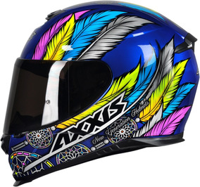 Capacete Axxis Eagle Dreams Gloss Blue Grey