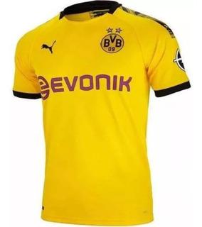 Camisa Borussia Dortmund Home 19/20 Tailandesa