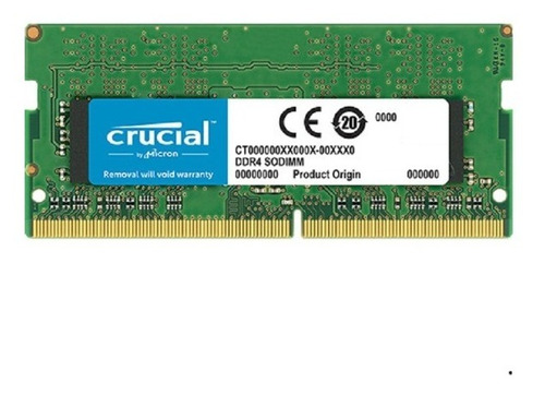 Memoria P/notebook Crucial Sodimm Ddr4 8gb Ct8g4sfs8266
