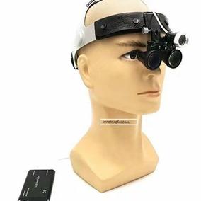 Óculos Lupa Cabeça Fotóforo Tratamento Estético E Cirurgias