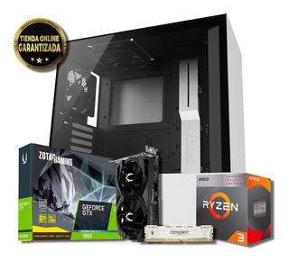 Pc Gamer 2020| Ryzen 3 3200 1660 6gb Zotac 8gb Ram 1tb Ssd