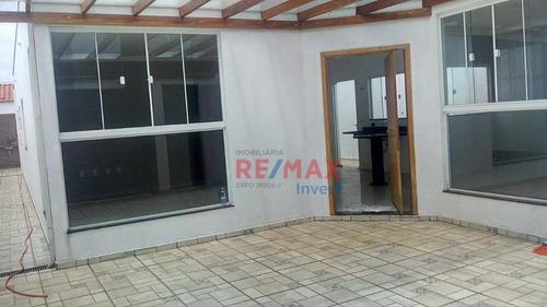 Casa Com 3 Dormitórios À Venda, 123 M² Por R$ 390.000,00 - Residencial Ouro Verde - Botucatu/sp - Ca1073