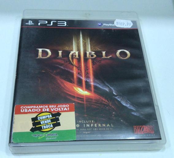 Jogo De Ps3 Diablo 3 Em Mídia Física Usado