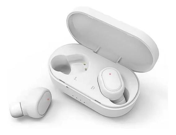 Fone De Ouvido Branco Sem Fio Bluetooth Barato Promoção