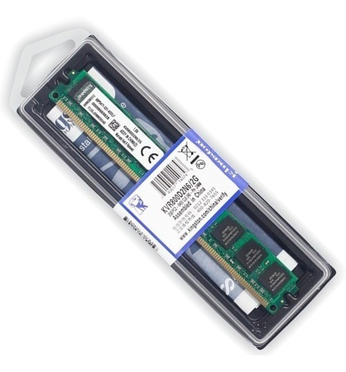 Memória Kingston 2gb Ddr2 800mhz Desktop