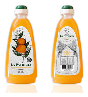 Pulpa De Limón Misionero La Patricia. Botella X 400 G
