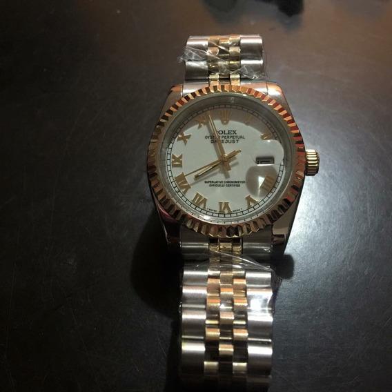 Reloj Rolex Dayjust Combinado Automático