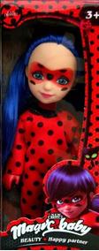 Muñeca Ladybug Miraculous 15cm Juguetes Lady Bug Niña Fabans