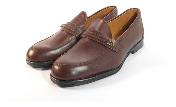 Zapato De Vestir Hombre En Cuero Oferta 38 Y 40 Moreno
