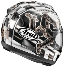 Capacete Arai Corsair-x Isle Of Man